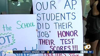 Scripps Ranch administrators mulling retesting AP students - Video