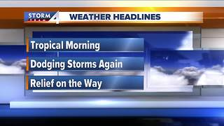 Meteorologist Brian Niznansky's Thursday morning Storm Team 4cast - Video
