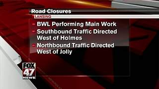 Road closures - Video