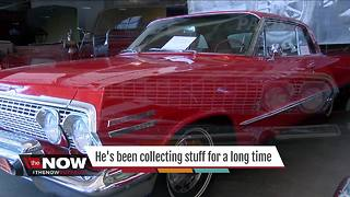 His collection of stuff grew into a world class museum - Video