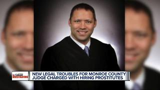 New legal troubles for Monroe County judge charged with hiring prostitutes - Video