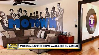 Motown-inspired home available on AirBnb