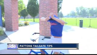 Coach Patton Tailgate Tips Proper Clothing - Video