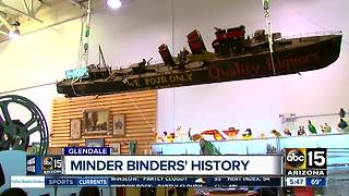 Get your hands on a piece of Minder Binders' history - Video