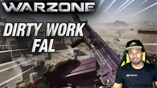 WARZONE 1 AGAINST 4   FAL DIRTY WORK