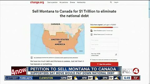 Petition to sell Montana to Canada is gaining support