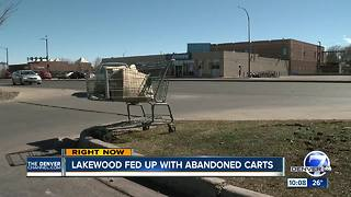 Lakewood looks to round up wayward shopping carts