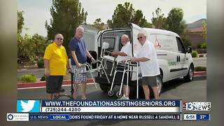 The Foundation Assisting Seniors offers free services for local seniors - Video