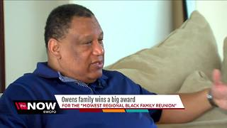 Family of the Year for Midwest Regional Black Family Reunion - Video