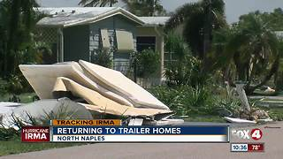 Residents of Naples community dusting off after Hurricane Irma - Video