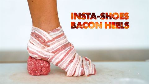 Behind the INSTA-shoe photographer: Bacon Heels