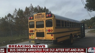 Pinellas County bus driver arrested for DUI after crash - Video