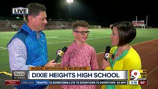 Dixie Heights HS junior looking forward to first home football game - Video