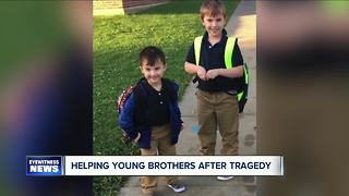 26 Shirts helping young brothers - Video
