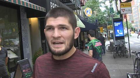 UFC Champ Khabib Says He'll Fight Conor McGregor In the Street