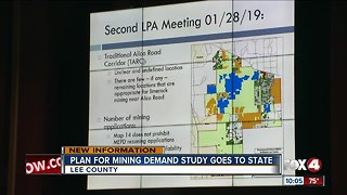 Residents upset over Lime Rock mining study in Lee County