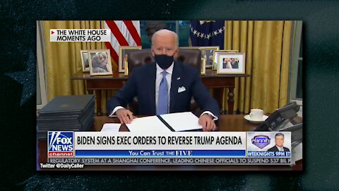 Joe Biden Immediately Signs Several Executive Orders, Reversing President Trump's Agenda