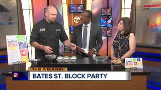 Bates Street Block Party raises funds for The Community House - Video