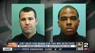 Jury selection begins for two BPD detectives - Video