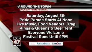 Around Town 8/3/17: Jackson Pride Festival