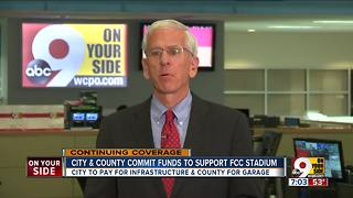 City, county commit funds to support soccer stadium - Video