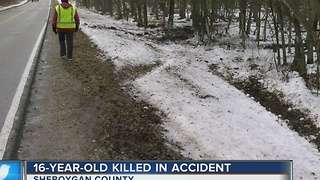 Black ice blamed for fatal accident in Sheboygan County - Video
