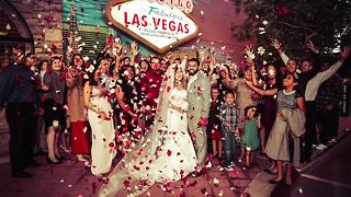 7-7-17 is a crazy popular day for weddings in Las Vegas - Video
