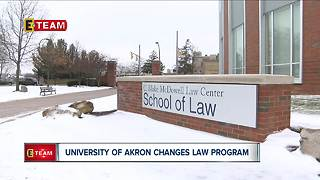 University of Akron changes law program - Video