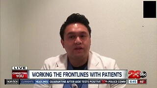 Working the frontlines with patients