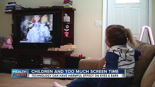 New warning about children and screen time