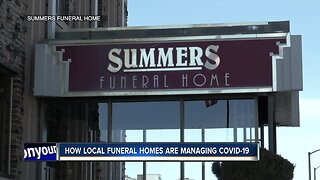 """Local funeral home combating """"loss of tradition"""" due to COVID-19"""