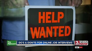 Do's and Dont's for Online Job Interviews