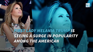 Melania Trump's Favorability Rating Surges In New Fox News Poll - Video