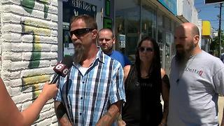 Owner of tattoo shop where accused cop killer works