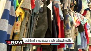 Local church offers unique shopping experience - Video