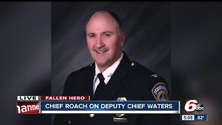 IMPD Chief Roach speaks on  Deputy Chief James Waters - Video