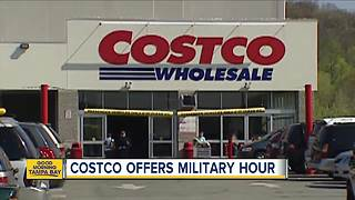 Costco hosting special shopping event for active-duty military, veterans - Video