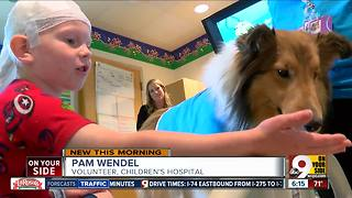 How dogs help kids at Cincinnati Children's - Video