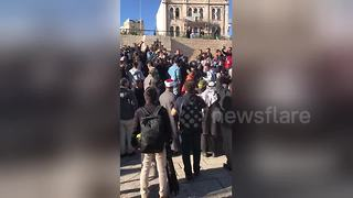Tension at Jerusalem's Old City - Video