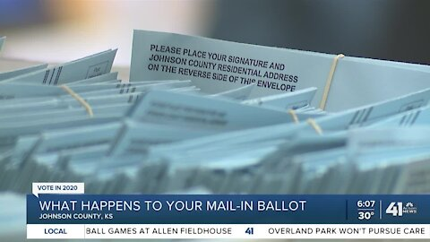 What happens to your mail-in ballot