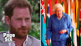 Prince Harry claims even the Queen is under control of royal institution