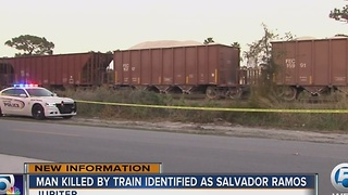 Pedestrian struck by train in Jupiter ID'd - Video