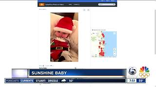 Sunshine Baby for 12/30/17 - Video