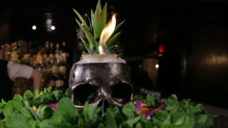 Death & Co.'s Flaming Zombie Punch Is Still an Essential NYC Cocktail - Video
