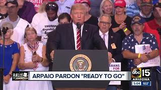 President Trump expected to pardon Sheriff Joe Arpaio - Video