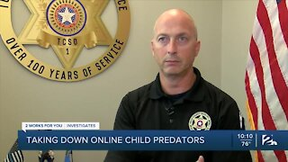 Taking down online child predators