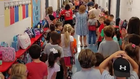 Elementary Kids Sing Song Of Hope In Face Of Hurricane Florence