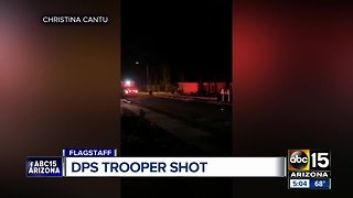 DPS Trooper recovering after being shot in Flagstaff incident