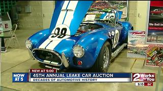 45th Annual Leake Car Auction underway - Video
