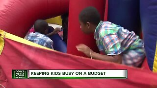 Keeping kids busy on a budget